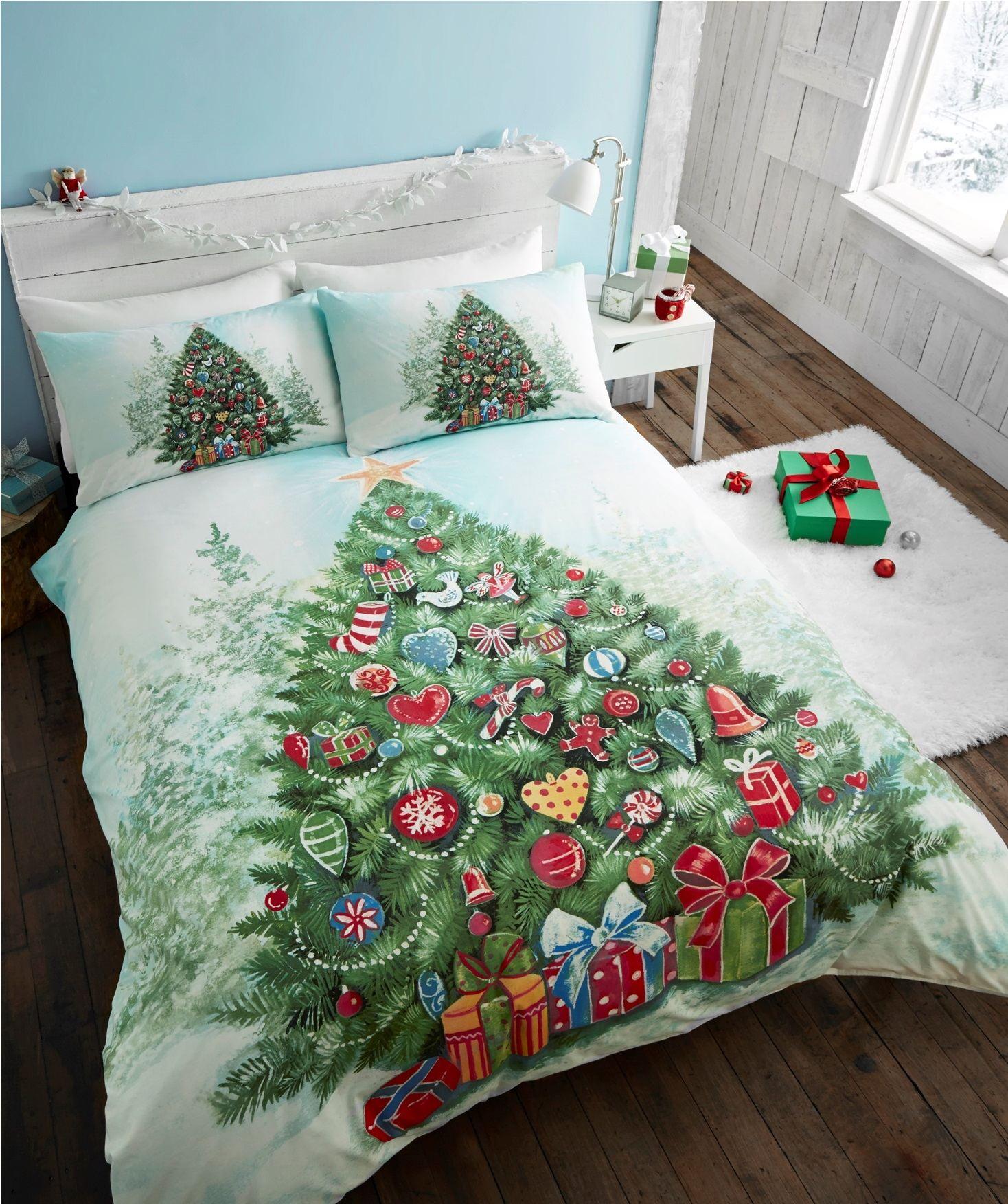 Vánoční strom povlečení