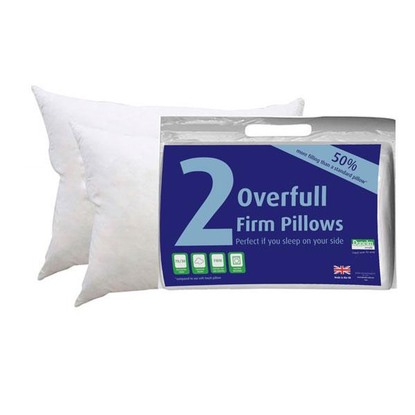 2 kusy polštářů - silná opora Overfull Firm